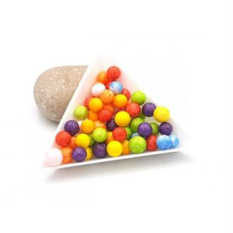 2000 Billes De Polystyrène Multicolores 8mm Pour Slime