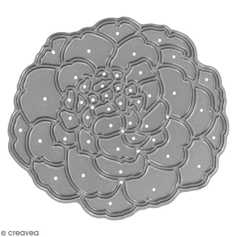 outil de d coupe fleur magnifique matrice de d coupe creavea. Black Bedroom Furniture Sets. Home Design Ideas