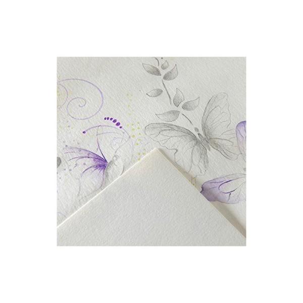 Canson Imagine Bloc Papier à dessin 50 feuilles 200g A3 29,7 x 42 cm 50 feuilles Blanc pur - Photo n°1