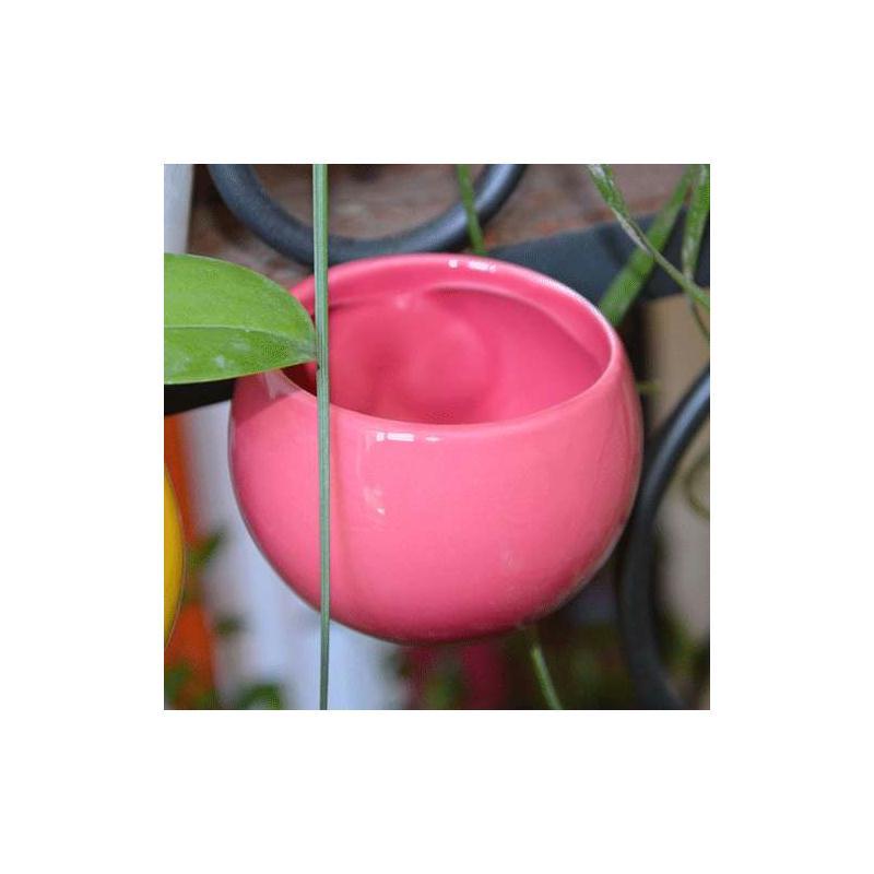 mini cache pot aimant rose ancien diam global env 8 cm. Black Bedroom Furniture Sets. Home Design Ideas