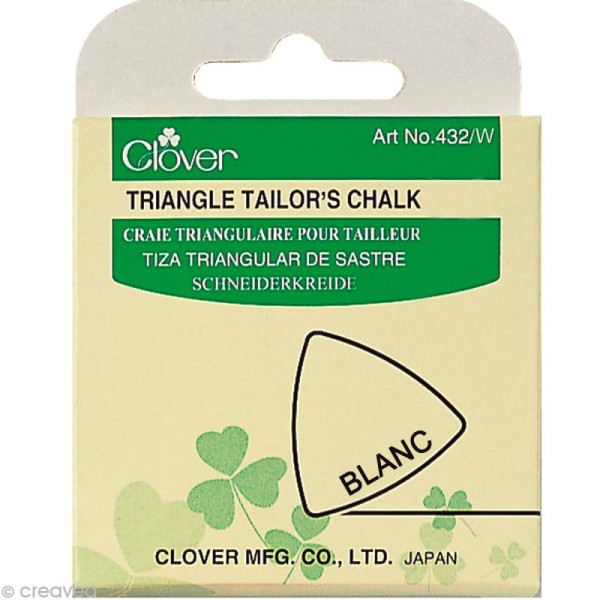 Craie tailleur Blanche pour couture Clover - Photo n°2
