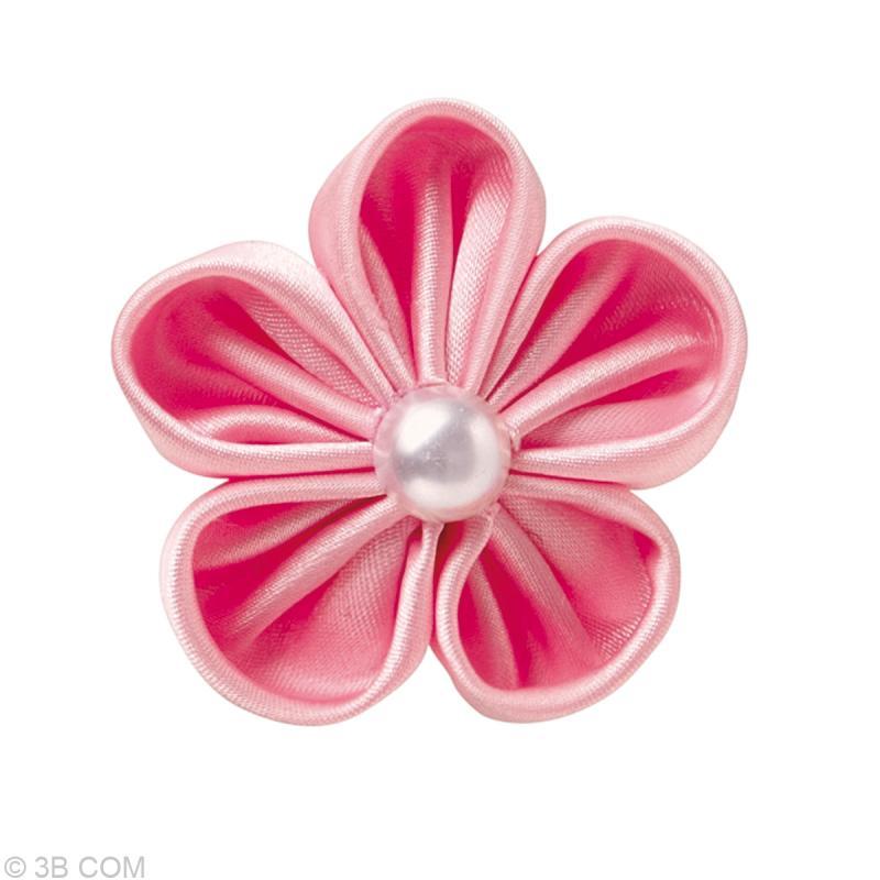 confectionneur de fleur en tissu kanzashi p tale. Black Bedroom Furniture Sets. Home Design Ideas