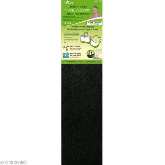 Stabilisateur pour fond de sac Noir 51 x 13 cm - 2 pcs