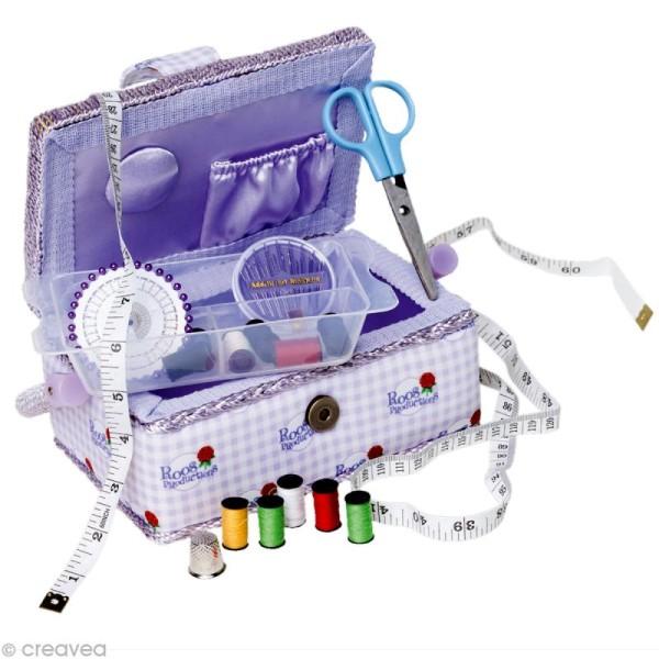 Boîte à couture garnie pour enfant - Photo n°1