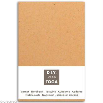 Carnet à décorer ligné 10 x 15 cm - 80 pages