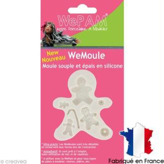 Moule silicone WePam La famille pain d'épices - WeMoule