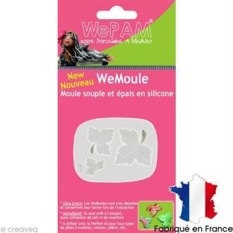 Moule silicone WePam Feuilles d'érable - WeMoule