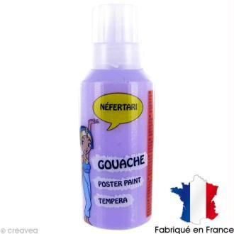 Gouache peinture Néfertari Lavande 55 ml