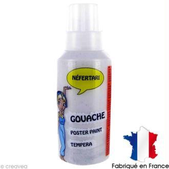 Gouache peinture Néfertari Argent 55 ml