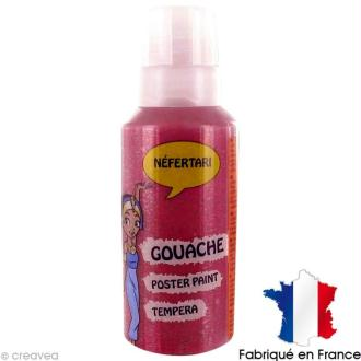 Gel pailleté Néfertari Rouge 60 ml