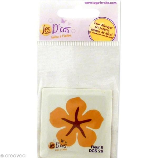 Matrice de découpe dies - D'co mini Fleur 6 - 5 x 5 cm - Photo n°2