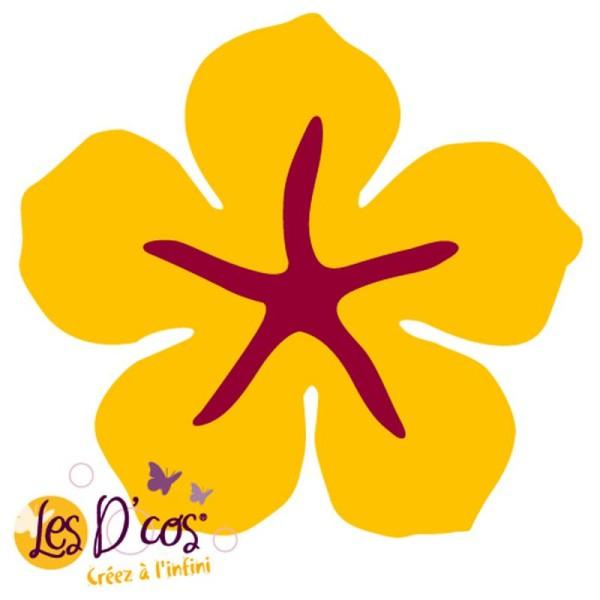 Matrice de découpe dies - D'co mini Fleur 6 - 5 x 5 cm - Photo n°1