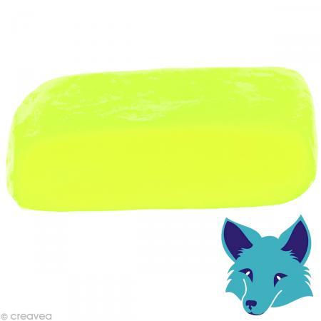 Porcelaine froide Fox Jaune citron fluo - 250 g - Photo n°1