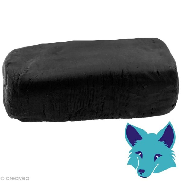 Porcelaine froide Fox Noir - 250 g - Photo n°1