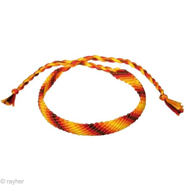 fil stitch knot orange pour bracelet br silien 5 x 10 m bracelet br silien creavea. Black Bedroom Furniture Sets. Home Design Ideas