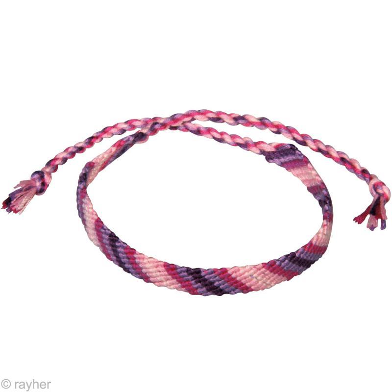 fil stitch knot rose oeillet pour bracelet br silien 5 x 10 m bracelet br silien creavea. Black Bedroom Furniture Sets. Home Design Ideas