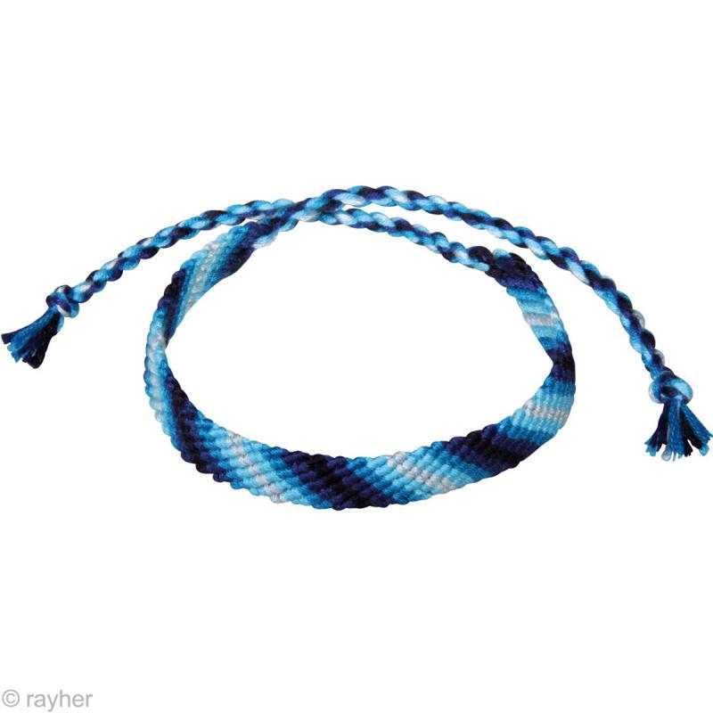 fil stitch knot bleu pur pour bracelet br silien 5 x 10 m bracelet br silien creavea. Black Bedroom Furniture Sets. Home Design Ideas