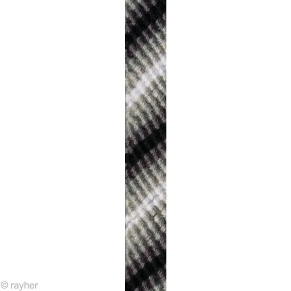 Fil Stitch & knot Gris granit pour bracelet brésilien - 5 x 10 m - Photo n°2