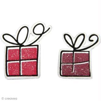 Miniature en bois Noël - Sweet angels - Cadeaux x 12