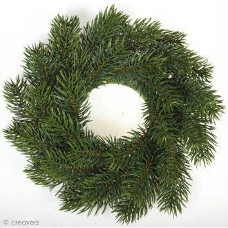 Couronne de sapin Noël 20 cm