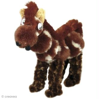Kit fil chenille enfant - Freddy le cheval