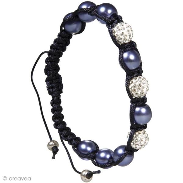 Kit bracelet shamballa - Cristal - Photo n°2
