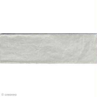 Papier de soie Argent - Paper Poetry 50 x 70 cm - 5 feuilles