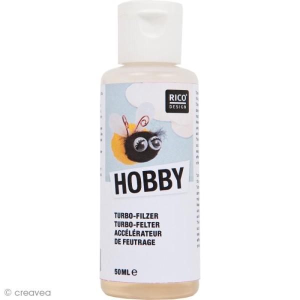Accélérateur de feutrage - Hobby - 50 ml - Photo n°1