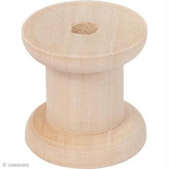 Bobine en bois - Couture et déco - 5 cm
