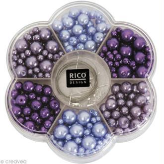 Kit Perles Bijoux - Renaissance - Lilas