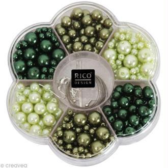 Kit Perles Bijoux - Renaissance - Vert