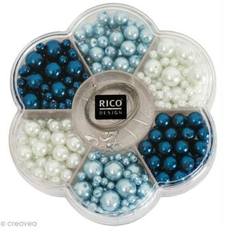 Kit Perles Bijoux - Renaissance - Bleu / Blanc