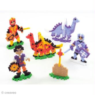 Kit perles à repasser Perler - Dragons et chevaliers