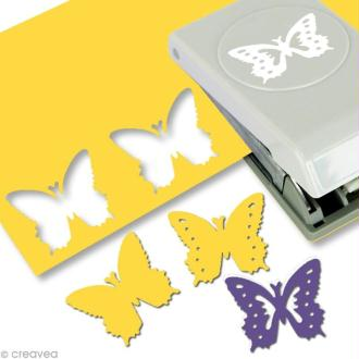 Perforatrice EK Success - Punch layering - Papillon