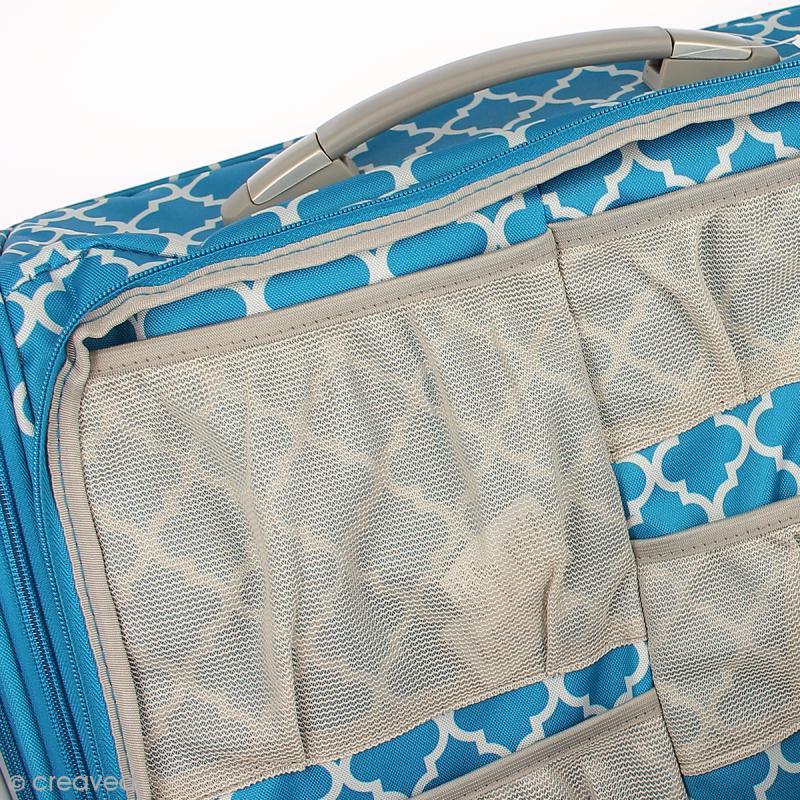 valise de rangement loisirs cr atifs 360 crafter 39 s bag sac scrapbooking creavea. Black Bedroom Furniture Sets. Home Design Ideas