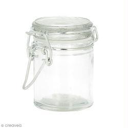 Pot en verre vide - Rond 4,5 x 6 cm - 45 ml