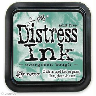 Encreur Distress Ink - Encre Bleu vert branchage (Evergreen bough)