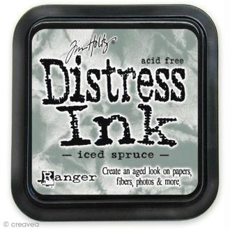 Encreur Distress Ink - Encre Gris glacé (Iced spruce)