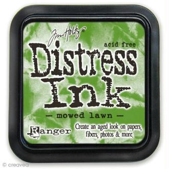 Encreur Distress Ink - Encre Vert pelouse (Mowed lawn)