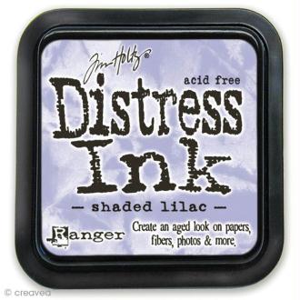 Encreur Distress Ink - Encre Violet lilas ombré (Shaded lilac)