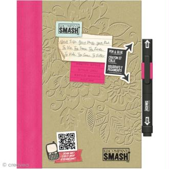 Smash book Pretty pink - Journal 40 pages