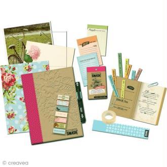 Kit Smash book Pretty pink