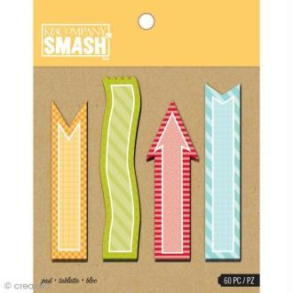 Notes adhésives Smash book x 60