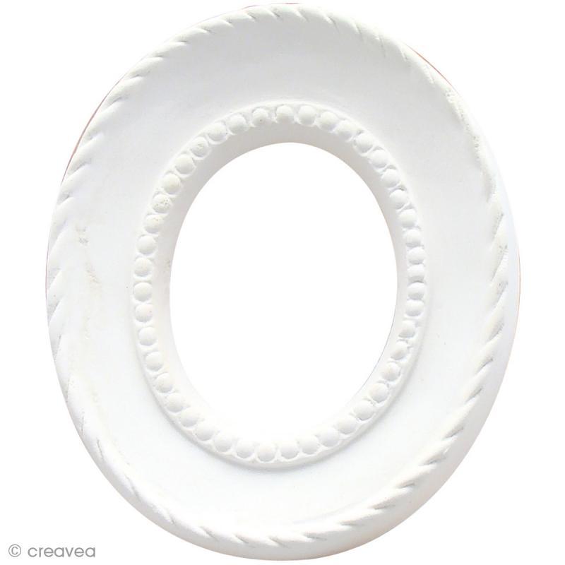 forme en pl tre cadre ovale cordage 8 x 6 7 cm forme en pl tre creavea. Black Bedroom Furniture Sets. Home Design Ideas