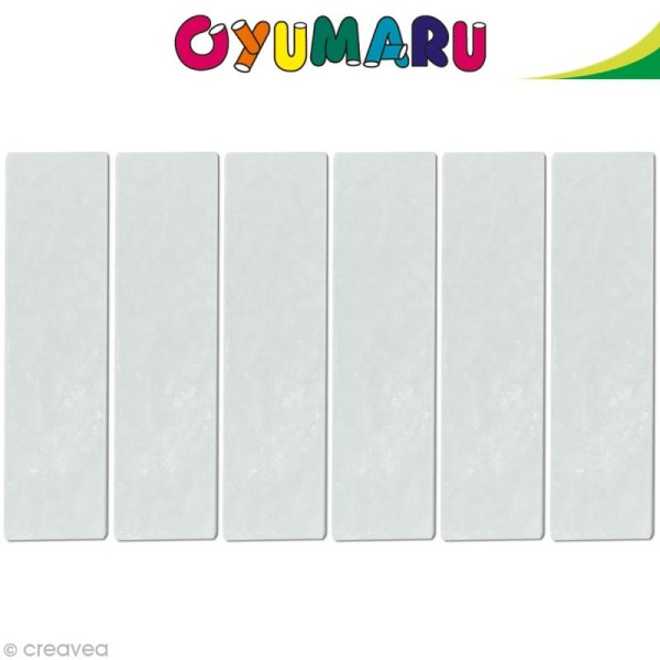 Pâte Oyumaru Transparent x 12 bâtonnets - Photo n°1