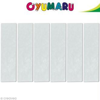 Pâte Oyumaru Transparent x 12 bâtonnets