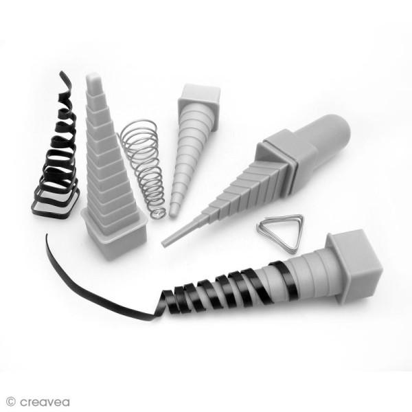 Mandrin pour fil aluminium - 4 formes géométriques - Photo n°2