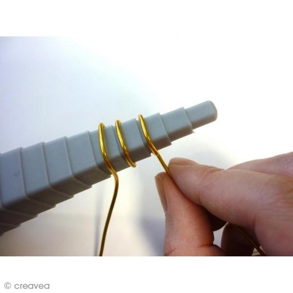 Mandrin pour fil aluminium - 4 formes géométriques - Photo n°4