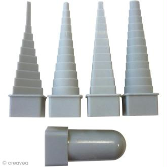 Mandrin pour fil aluminium - 4 formes géométriques