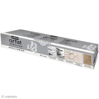 Auxiliaires Pébéo - Kit Studio Acrylics Extrafine - 5 x 40 ml